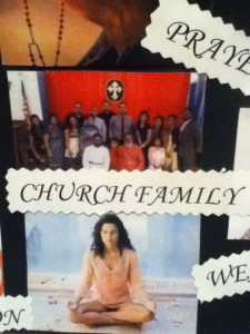 Vision Board Church Family