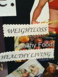 Vision Board Healthy Living