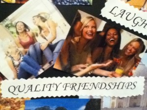 Vision Board Quality Friendships